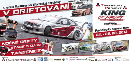 4. TransportProjekt King Of Drift Slovakia 2013