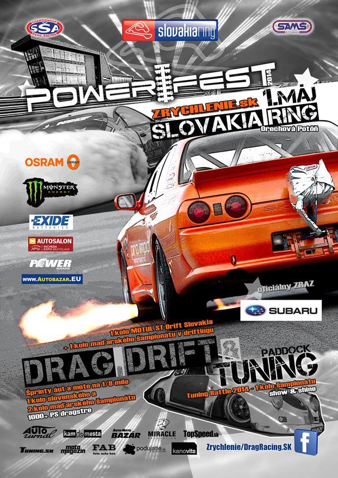 Power Fest 2014 – SlovakiaRing